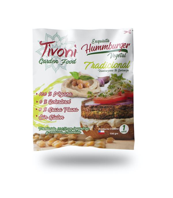 Hummburguer Original Tivoni Garden Foods