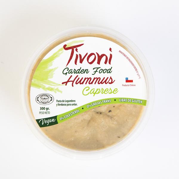 Hummus Tivoni Garden Foods Caprese