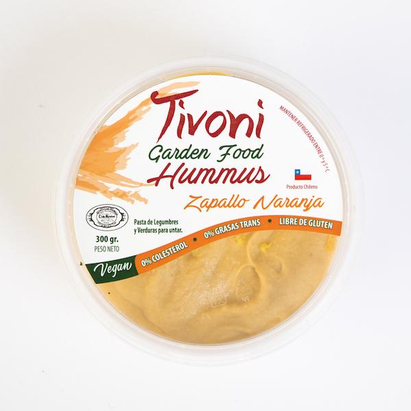 Tivoni Garden Foods Zapallo Naranja